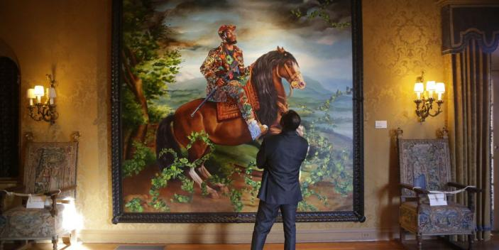 Kehinde Wiley Philbrook Museum of Art