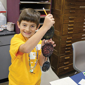 Art Camp, Session 1: From Drawing to Printmaking (AM, Ages 9-10)